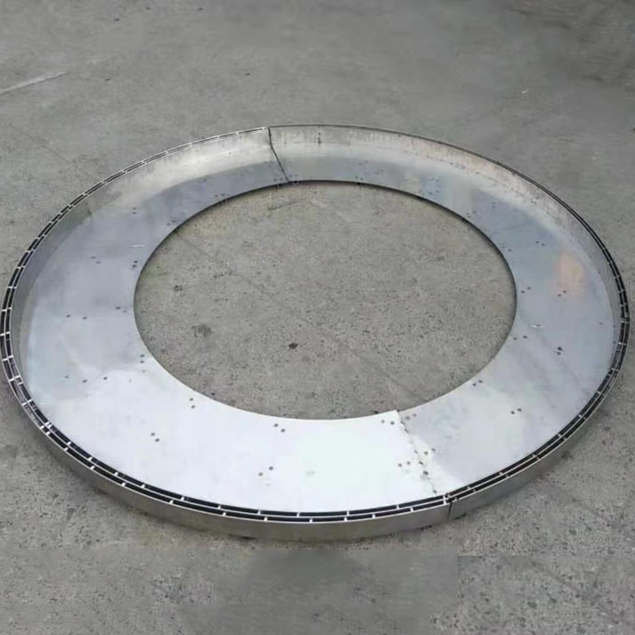 不锈钢弧形盖板