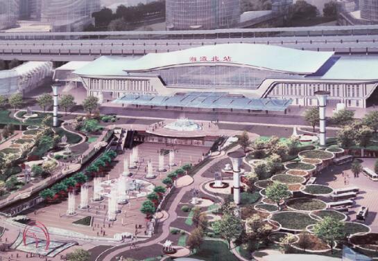 湖南湘潭北站HDPE排水沟案例