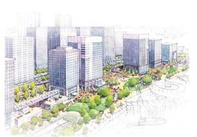 福州海西金融街项目案例