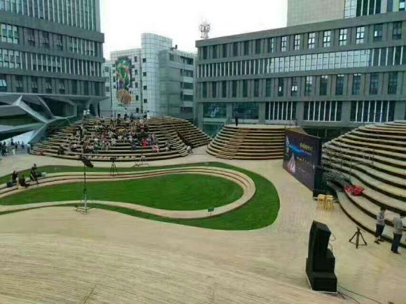 天津高新区智慧山南塔项目案例